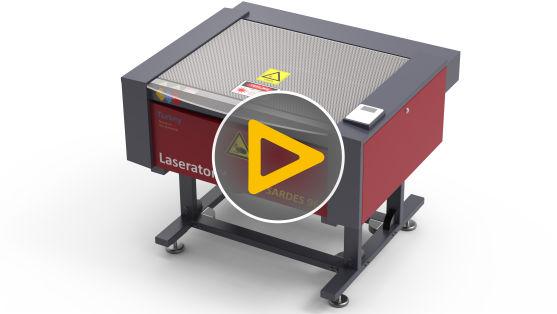 Laserator SARDES 96 CO2 Laser Cutting Machine