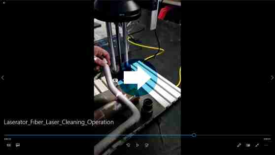 Fiber Laser Cleaning Operation
