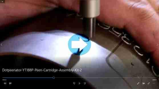 Partial Circumfrencial Dot Peen Marking