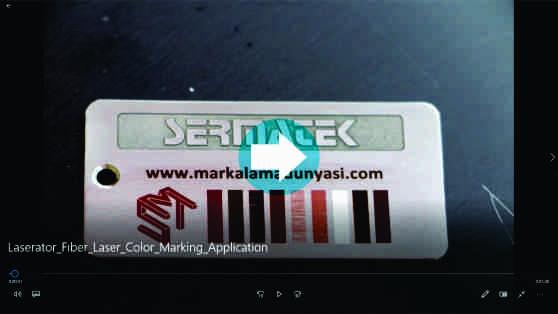 Laser Color Marking Application