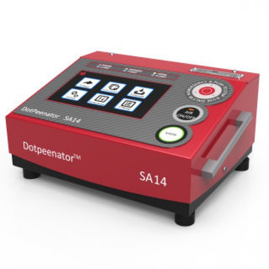 Dotpeenator™ PR94 Portable Dot Peen Marking Machine