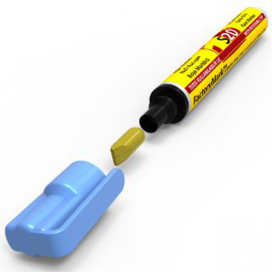 FactoryMark™ S20 13cm³ Light Blue Permanent Paint Marker
