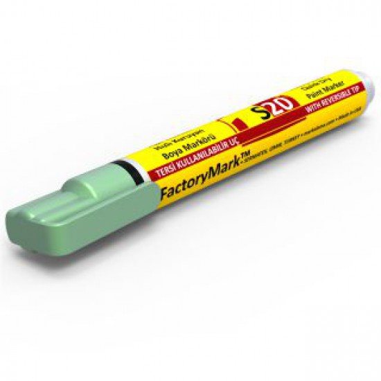 FactoryMark™ S20 13cm³ Light Green Permanent Paint Marker
