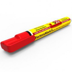 FactoryMark™ S20 13cm³ Red Permanent Paint Marker