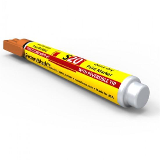 FactoryMark™ S20 13cm³ Orange Permanent Paint Marker