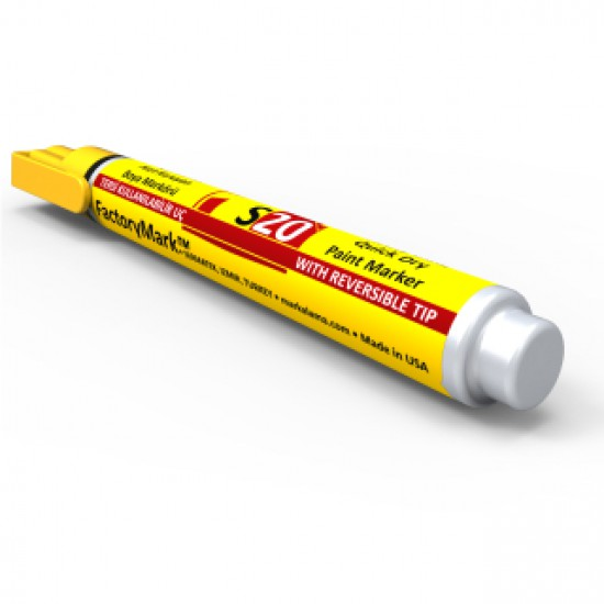 FactoryMark™ S20 13cm³ Yellow Permanent Paint Marker