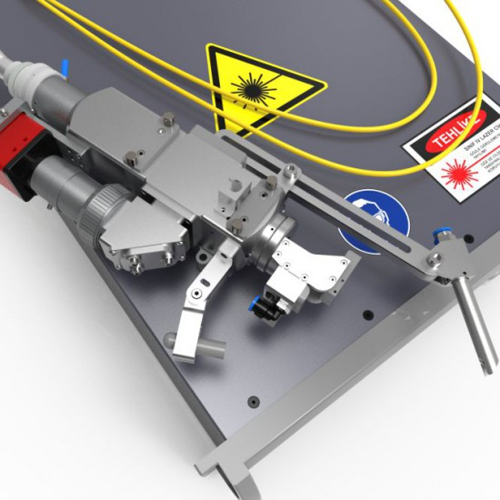 Laserator™ 1kW Fiber Laser Welding Engines are designed for integrator or machine builders to integrate into their machines or automation lines. It is easy-to-integrate fiber laser ever. Fiber Laser for 2D Welding,