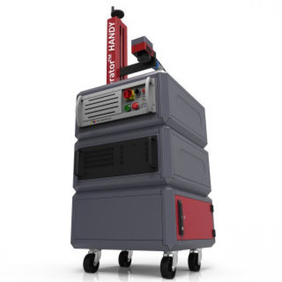 Laserator PORTY-M Class-IV On-The-Floor Fiber Laser Marking Machine