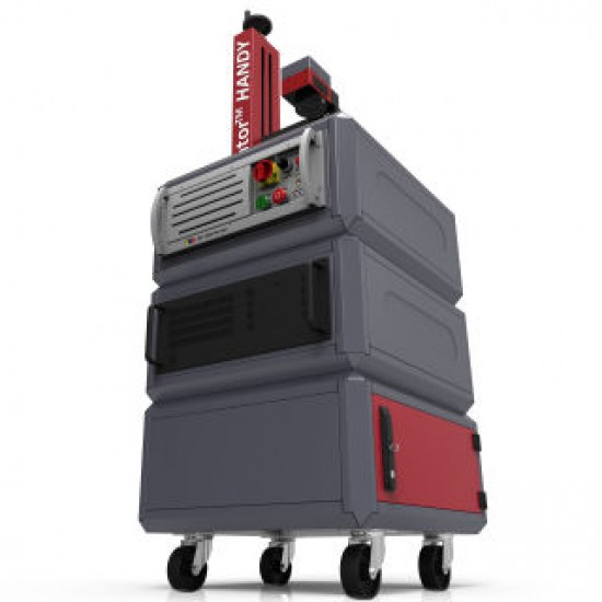 Laserator PORTY-M Class-IV On-The-Floor Fiber Laser Marking Machine