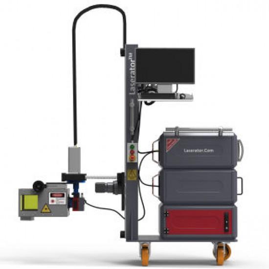 Laserator PORTY-PUMP Class-I On-The-Floor Fiber Laser Marking Machine