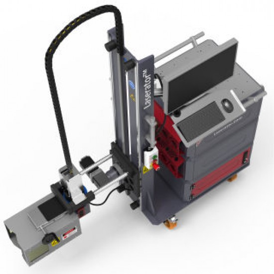 Laserator PORTY-PUMP Class-I On-The-Floor Fiber Laser Marking Machine