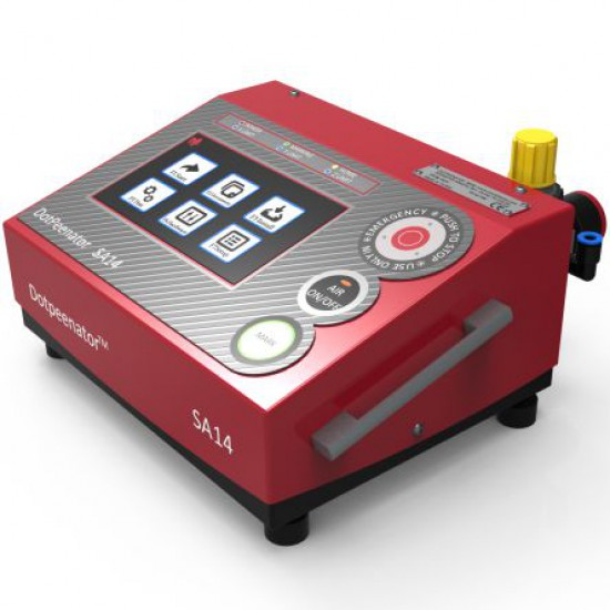 Dotpeenator™ SA14 Marking Machine Controller, Marking Conroller, Marking Machine Control Unit, Marking Machine Controller Unit, Serial Number Marking, Permanent Marking,  Deep Marking, integrable dot peen marking,  serial number marking, permanent marking