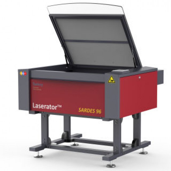 Laserator SARDES-96 60W, 80W, 100W, 120W, 150W CO2 Laser Cutting Machine